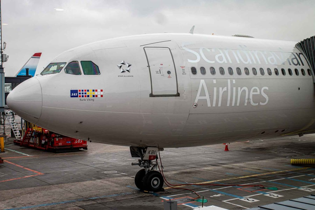 SAS Airbus A340 Rurik Viking OY-KBM