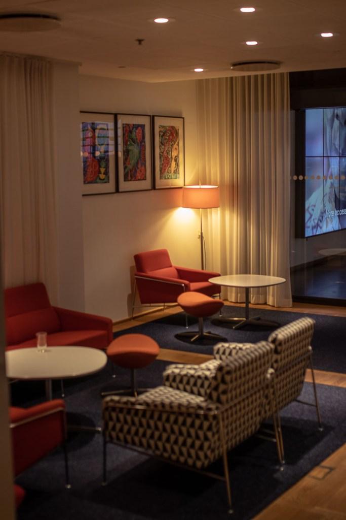 SAS Gold Lounge Kopenhagen-13