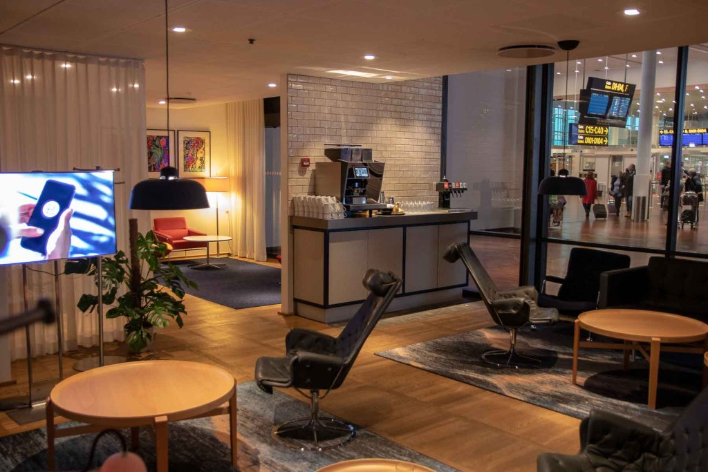 SAS Gold Lounge Kopenhagen-2