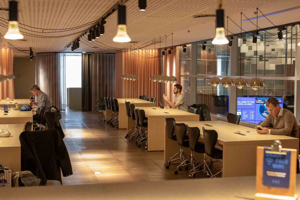 SAS Gold Lounge Kopenhagen-5