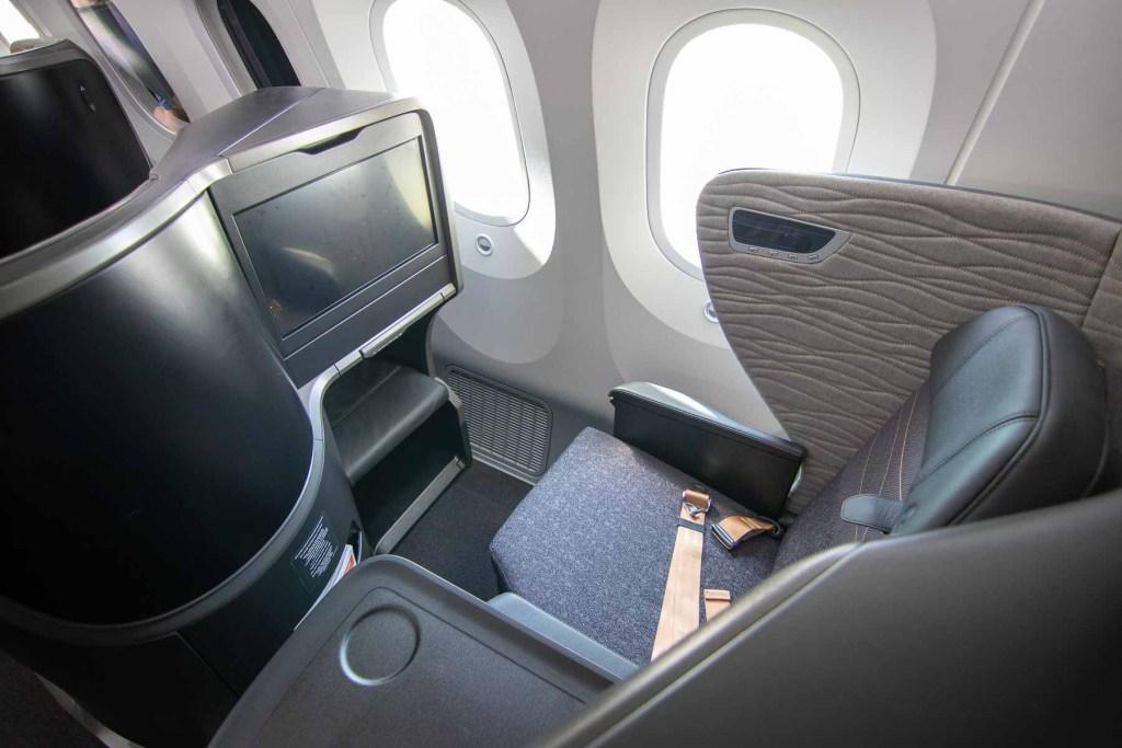 Turkish Airlines Boeing 787 Business Class Sitz-2