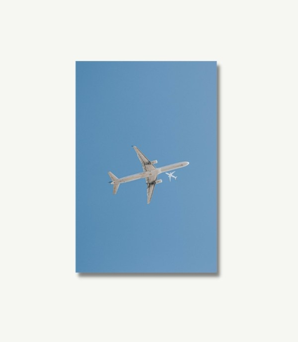 Flugzeug Poster Air to Air Poster