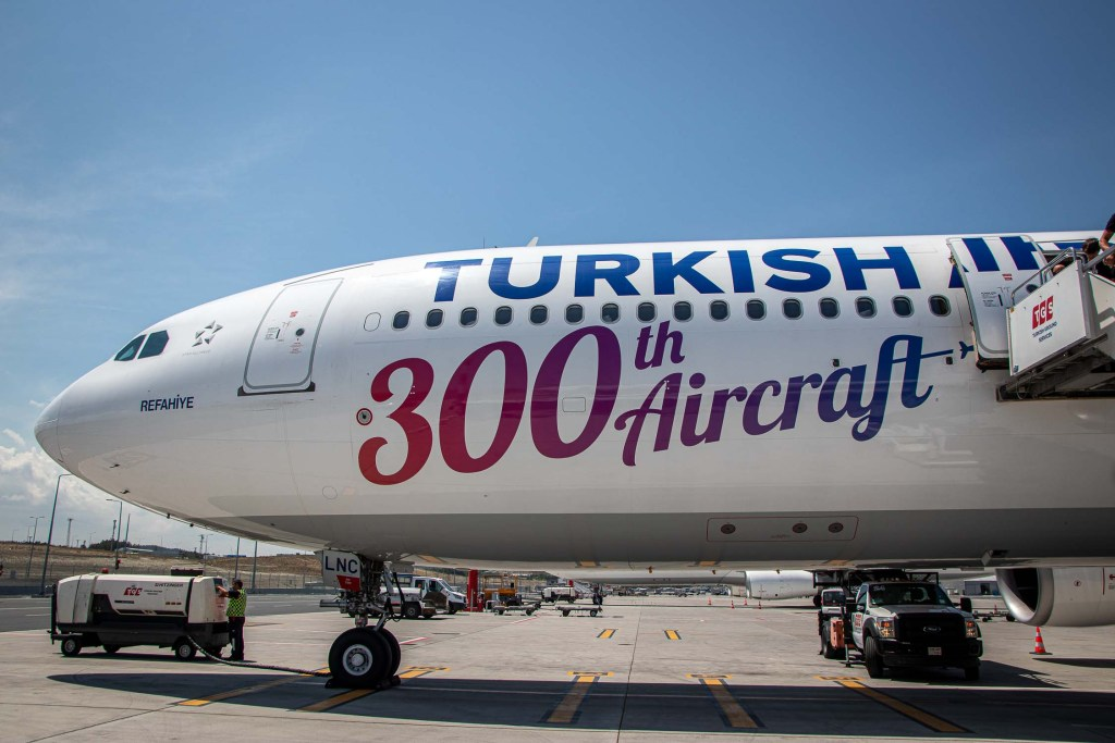 Turkish Airlines A330 TC-LNC Business Class_-2