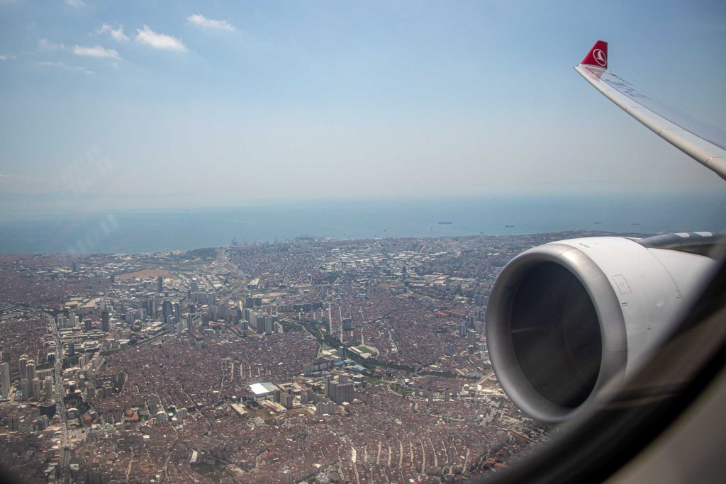 Turkish Airlines A330 TC-LNC Business Class_