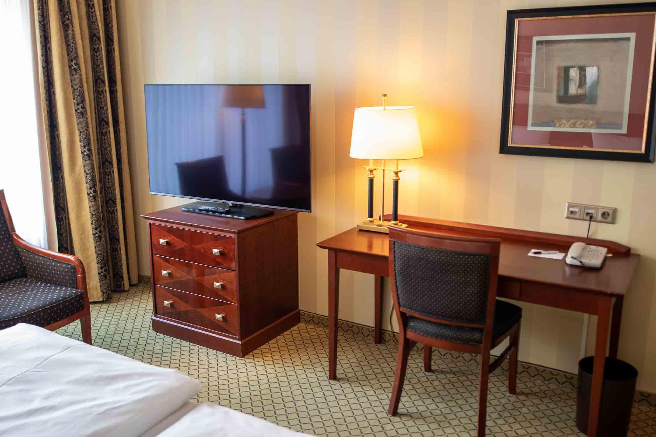 Zimmer JW Marriott Hotel Berlin Erfahrungsbericht