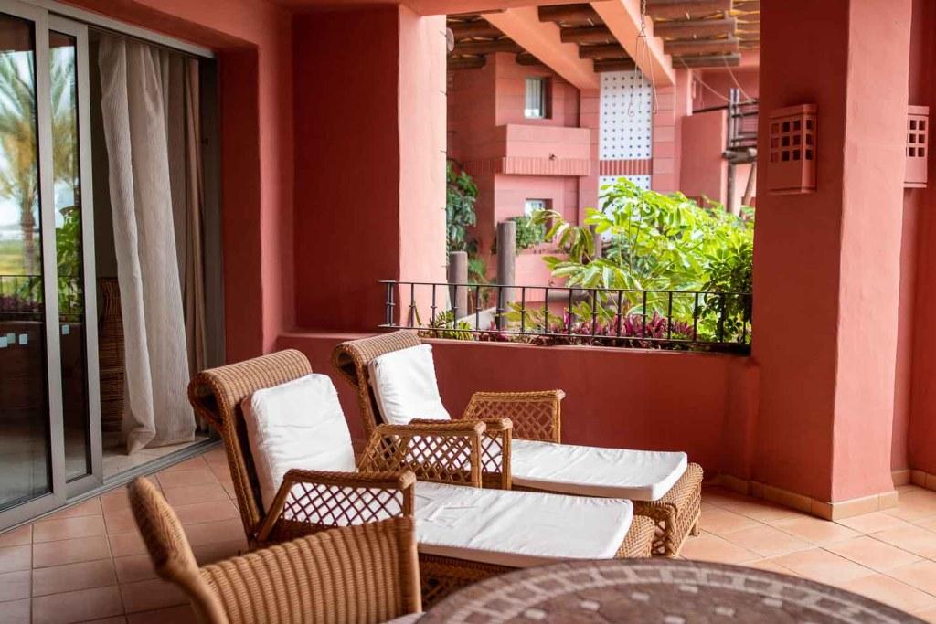 Ritz Carlton Abama Citadel Suite Balkon