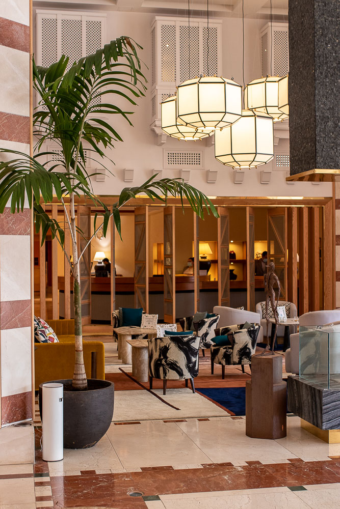 Ritz Carlton Abama Luxus Checkin Lobby-2