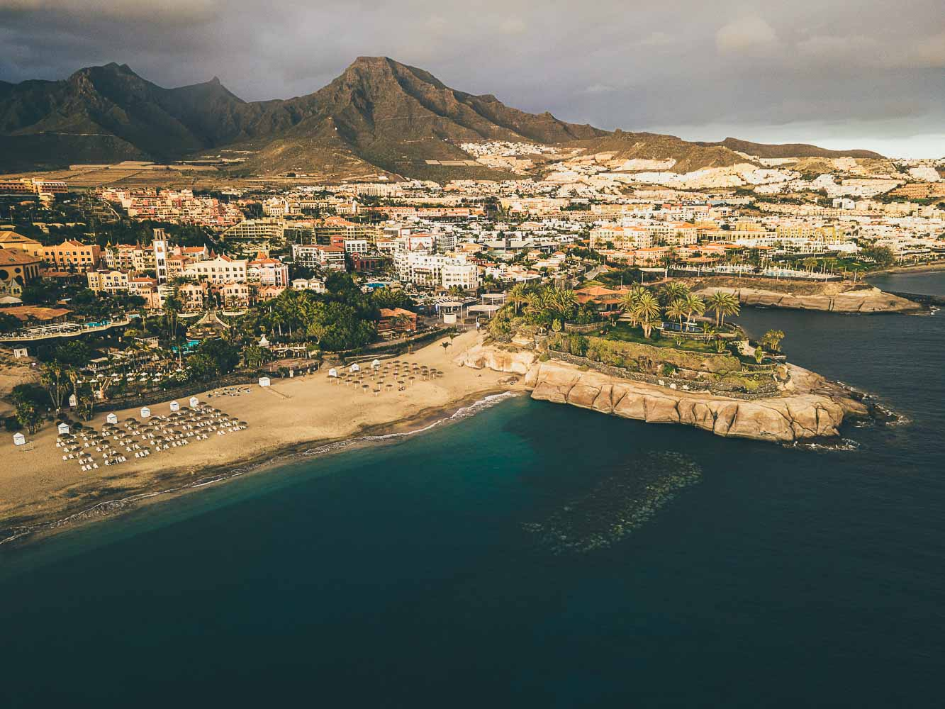 Strand Teneriffa Costa Adeje