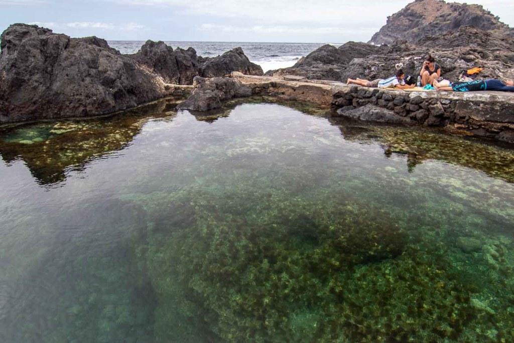 Strand Teneriffa Lava Pool