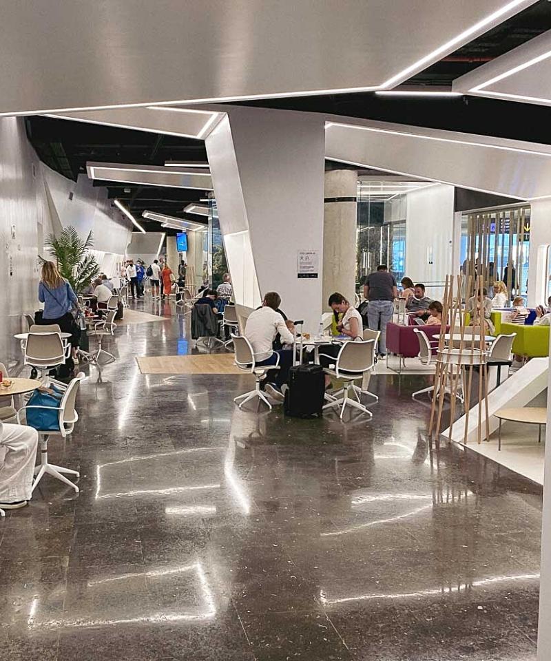 Flughafen Lounge Palma