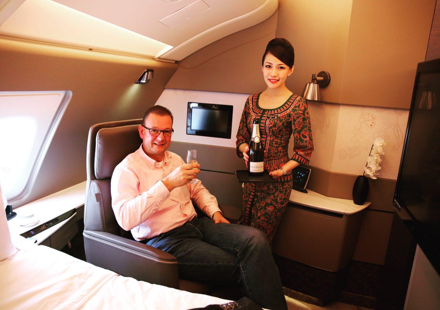 Michael Quandt Singapore Airlines A380 Suite