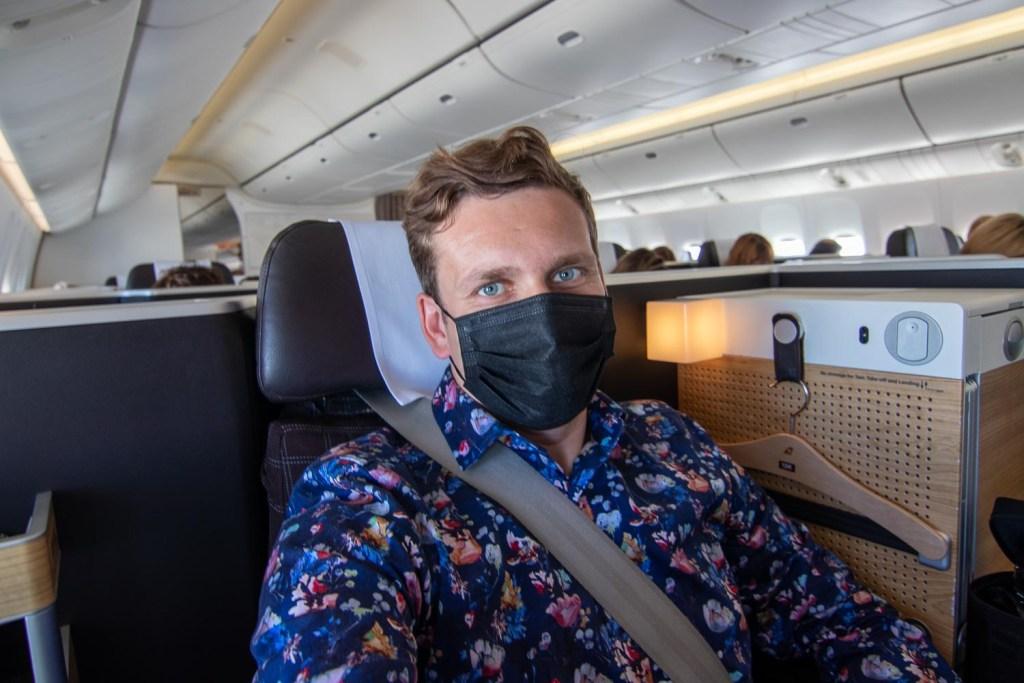 Swiss Boeing 777 Business Class nach Palma-3