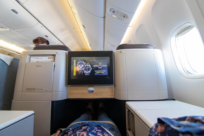 Swiss Boeing 777 Business Class nach Palma-6