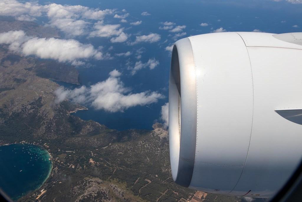 Swiss Boeing 777 Business Class nach Palma-9