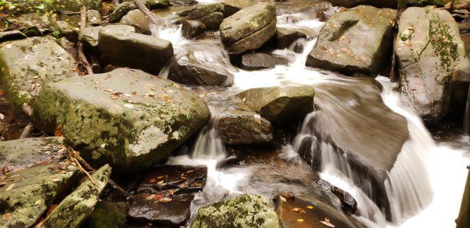Hacklebarney Sate Park, flowing rocks, hiking trails