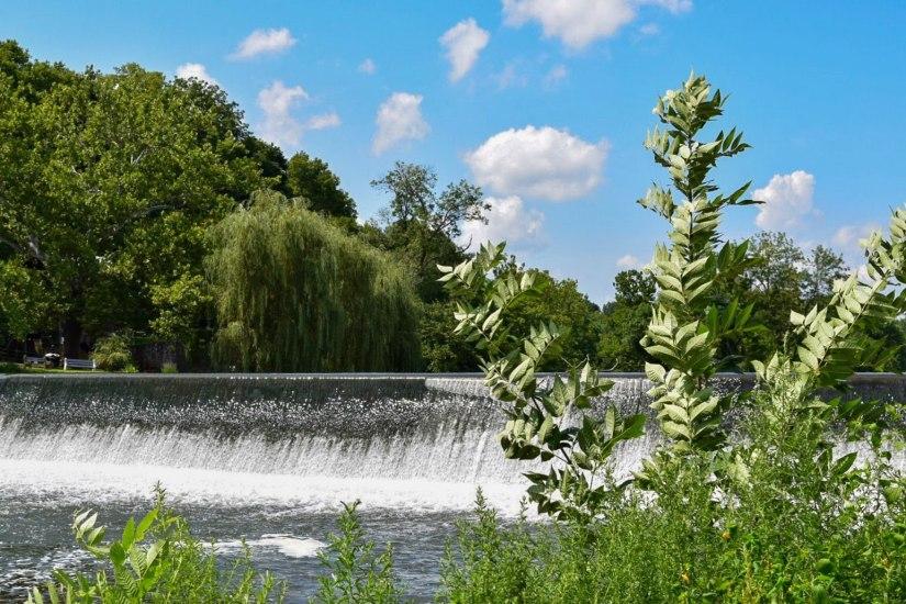 Solitude Lake, High Bridge Waterfall, waterfalls, High Bridge, New Jersey