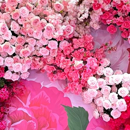 floral pop up