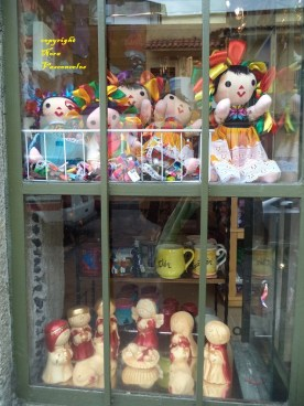 window dolls by NVS