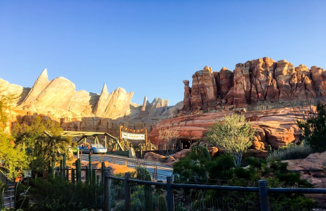 The sun is setting in Carsland
