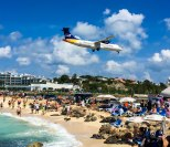 Maho Beach on St Martin