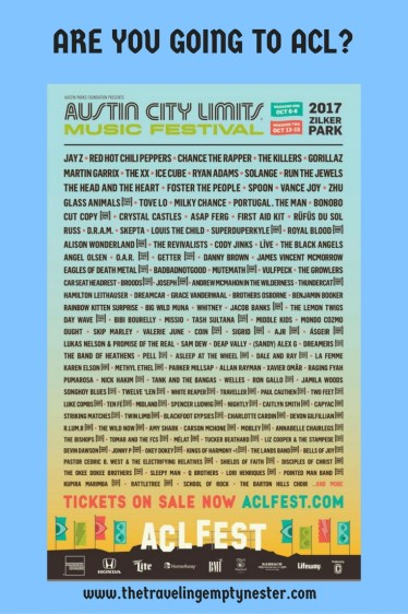 ACL 2017 lineup weekend one
