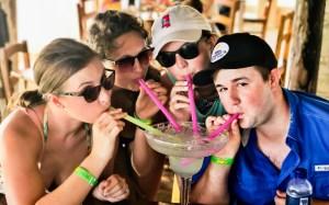 Playa Bonita on the Cozumel Bar Hop