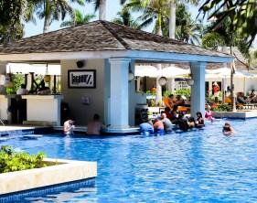 Pool Bar at the Hyatt Ziva