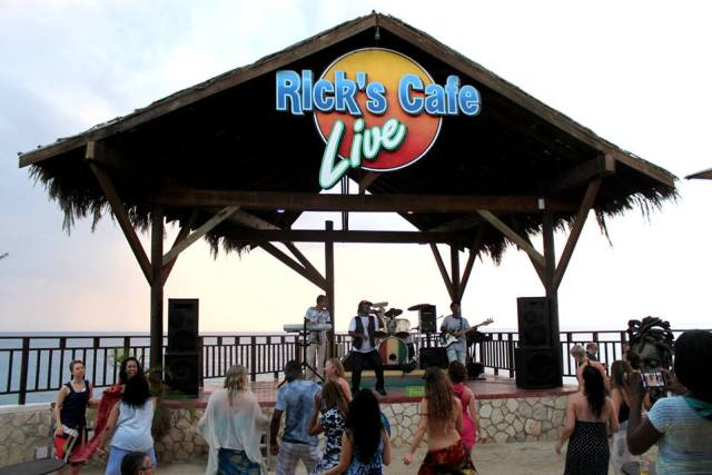 Live Reggae at Ricks Cafe!
