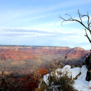 Mather Point - Grand Canyon in Winter