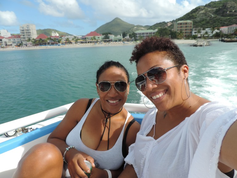 Ferry to St. Barth