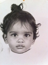 She was an adorable baby