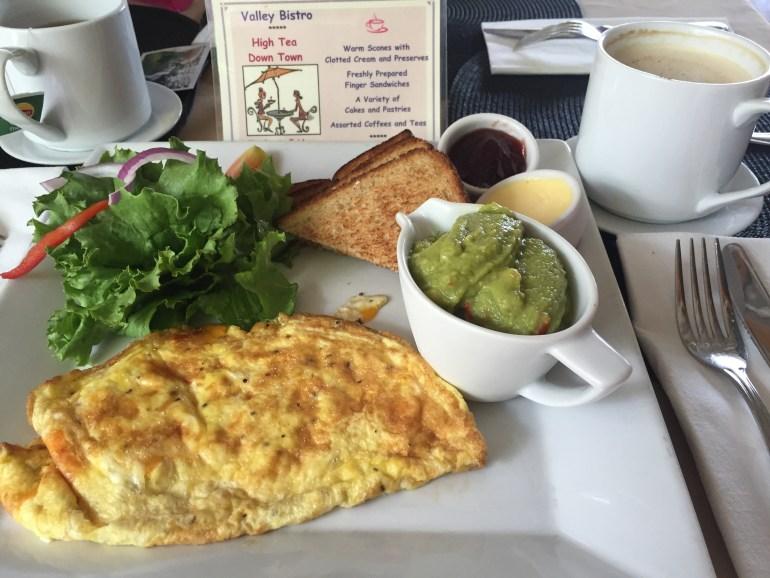 Breakfast at Valley Bistro