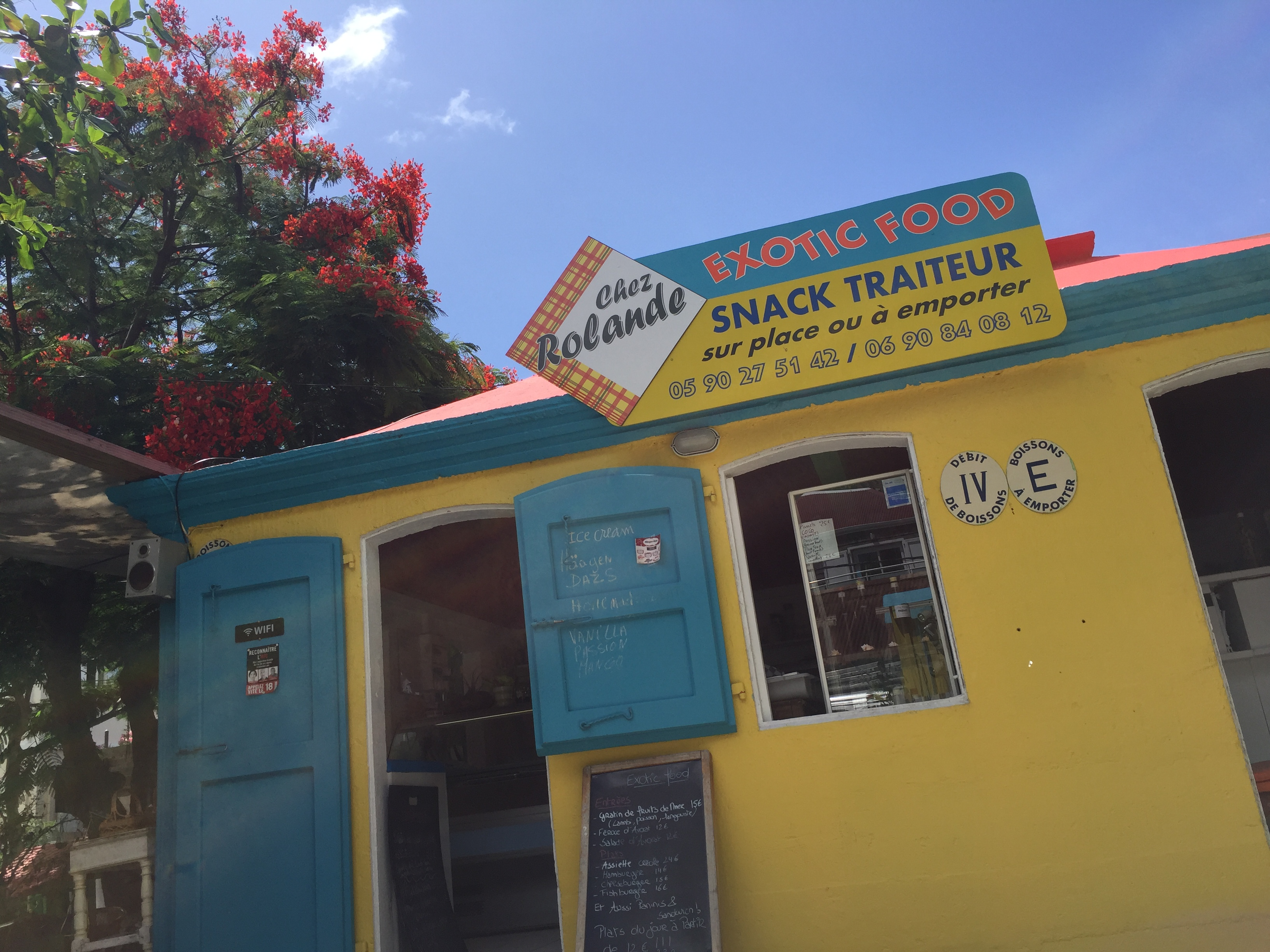 Chez Rolande Creole food