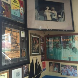 A wall full of history at Le Select