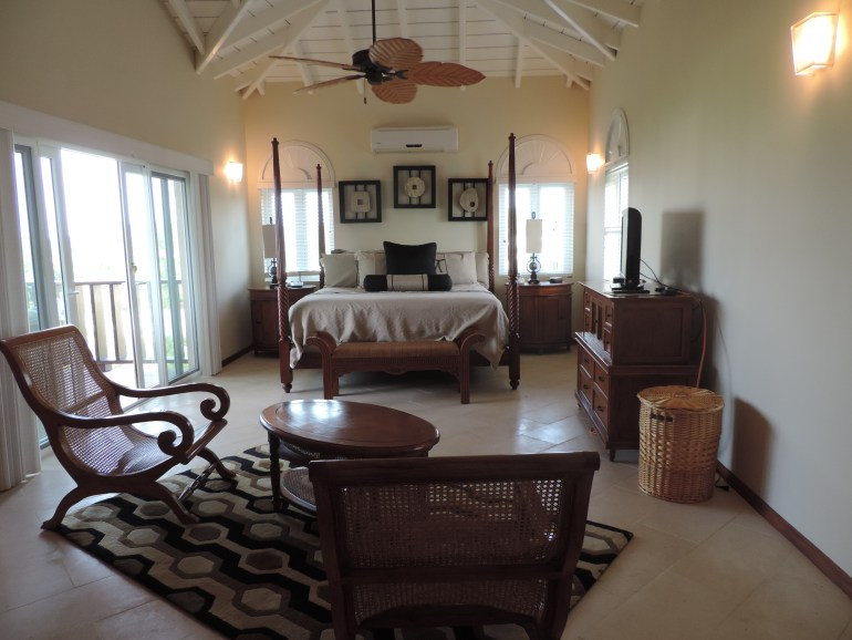 Main bedroom in two bedroom condo