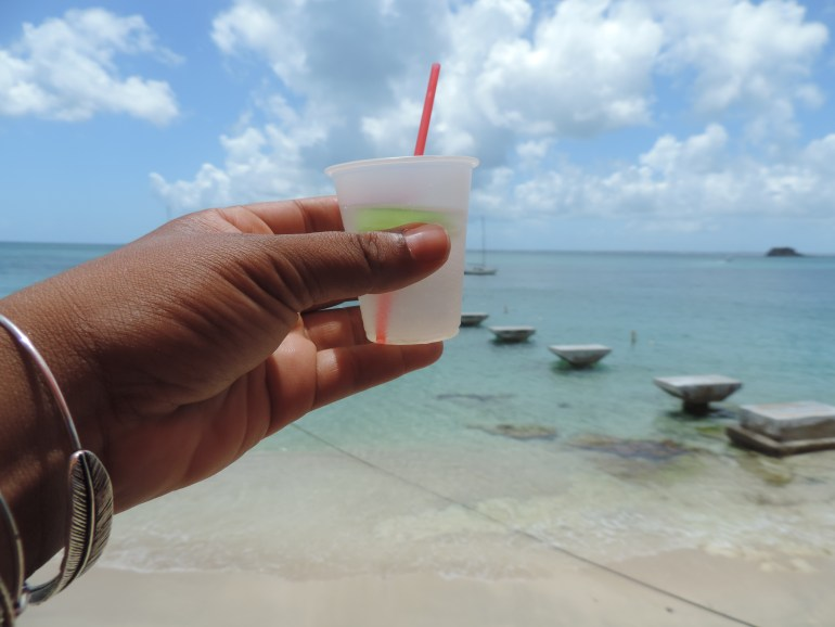 T-Punch: a typical French creole drink