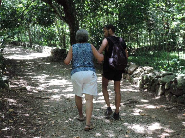 Hiking to Salto de Jima
