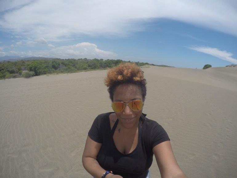 Selfie time at las Dunas de Baní