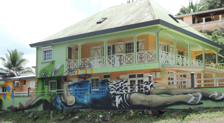 Guadeloupe Murals