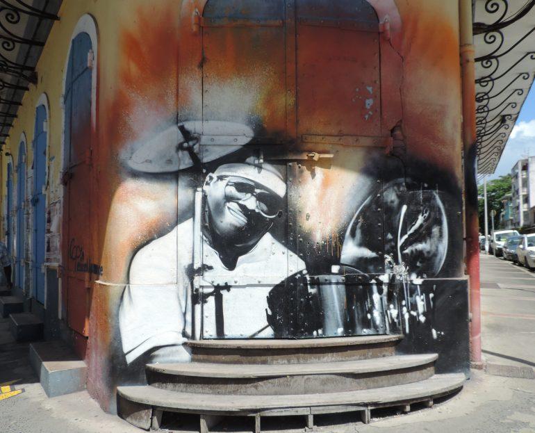 Street art in Guadelouoe