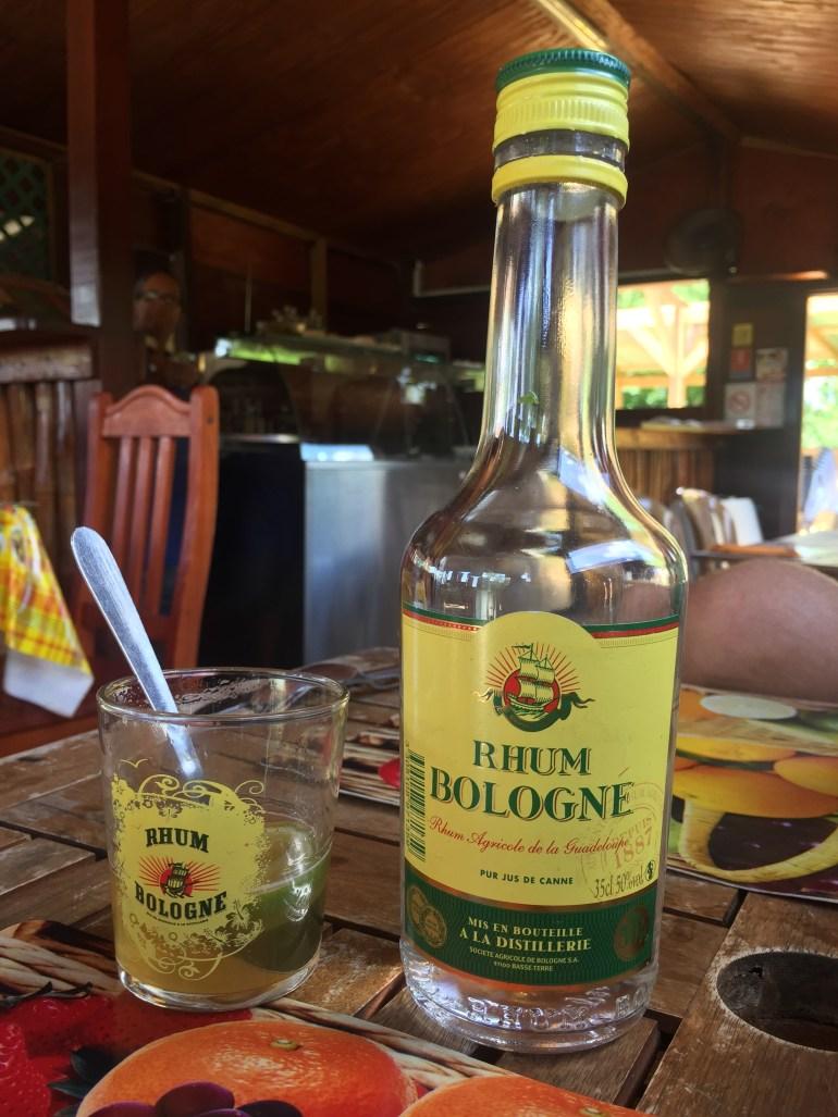 Bologne rum T-Punch