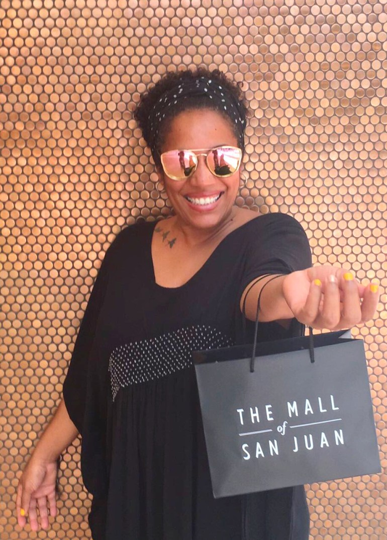 Shopping at the Mall of San Juan
