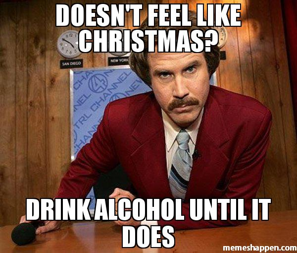 Christmas drinking