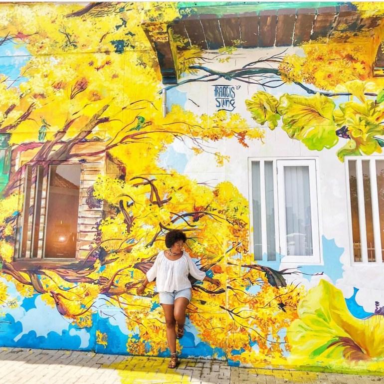 Murals on Curaçao