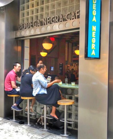 Favorite eateries in New York City
