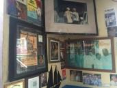 A wall full of history at Le Select