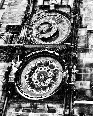 Prague's famous Astronomical Clock