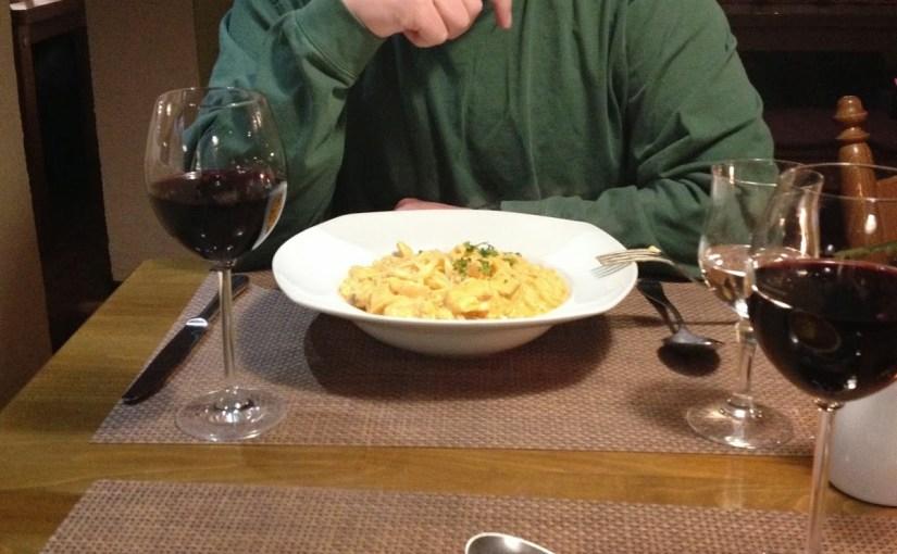 Dinner at Pizzeria da Piero in Jettingen…