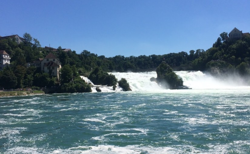 Rheinfall: a quick and easy day trip from the Stuttgart area!