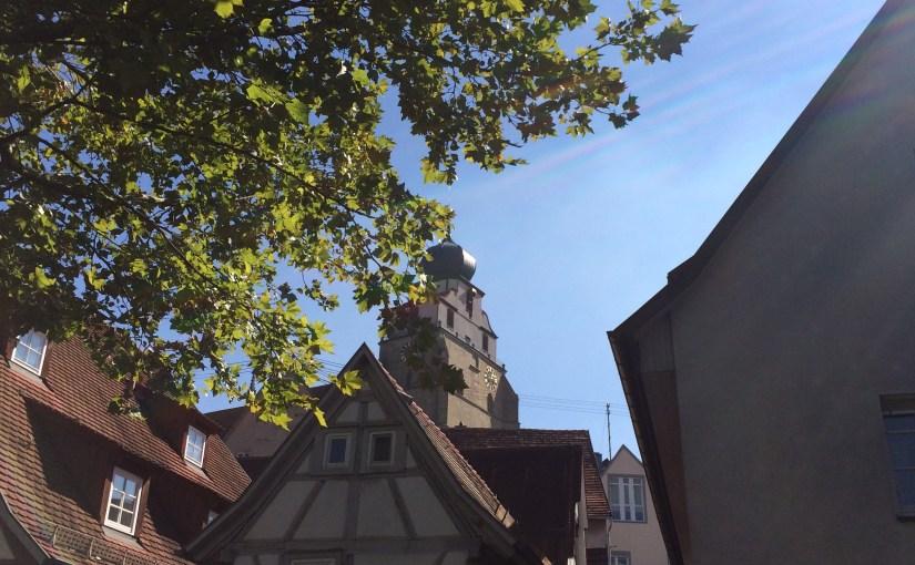 A gorgeous fall Saturday in Herrenberg!
